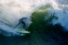 Tubo de la persona que practica surf Fotografía de archivo libre de regalías