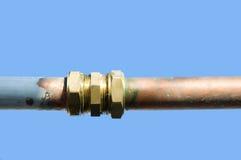 Tubo de la plomería Imagen de archivo libre de regalías