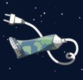Tubo de la tierra Imagen de archivo libre de regalías
