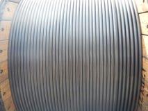 Tubo de la tubería de la bobina Fotografía de archivo