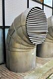 Tubo de la ventilación Foto de archivo libre de regalías