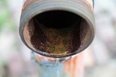 Tubo de las aguas residuales Fotografía de archivo libre de regalías