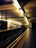 Tubo de Londres Imágenes de archivo libres de regalías