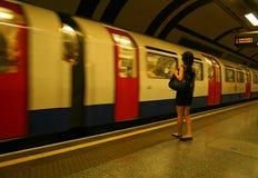 Tubo de Londres Imagen de archivo libre de regalías