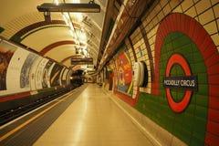 Tubo de Londres Fotos de Stock Royalty Free