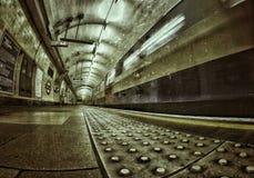 Tubo de Londres Foto de archivo libre de regalías