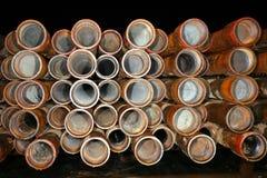Tubo de taladro Fotografía de archivo