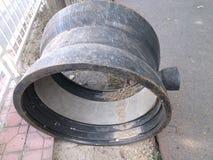 Tubo del abastecimiento de agua Fotos de archivo