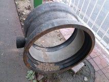Tubo del abastecimiento de agua Imagen de archivo libre de regalías