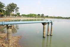 Tubo del abastecimiento de agua Imágenes de archivo libres de regalías