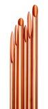 Tubo del acondicionador de aire Foto de archivo