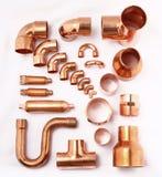 Tubo del acondicionador de aire Imagen de archivo libre de regalías