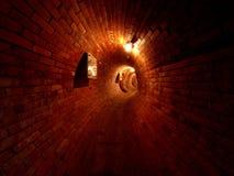Tubo del canal Fotografía de archivo libre de regalías