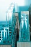 Tubo del examen médico de la biología de la ciencia Fotos de archivo