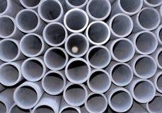 Tubo del fibrocemento Fotografia Stock