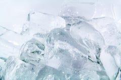 Tubo del ghiaccio fotografia stock