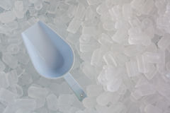Tubo del ghiaccio Fotografie Stock Libere da Diritti