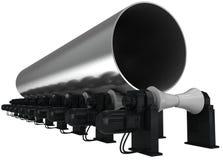 tubo del Grande-diámetro Fotos de archivo