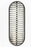Tubo del metal del corrugación para el cambiador de calor Foto de archivo libre de regalías