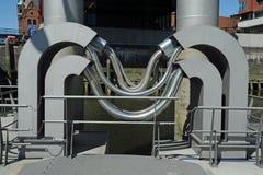 Tubo del metal flexible Foto de archivo libre de regalías