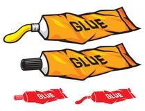 Tubo del pegamento stock de ilustración