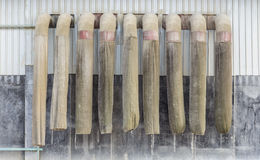 Tubo del polvo Fotos de archivo libres de regalías