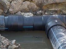 Tubo del PVC fotografie stock libere da diritti