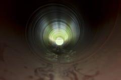 Tubo dell'acqua dall'interno Immagini Stock Libere da Diritti