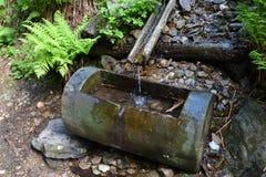 Tubo dell'acqua in natura Fotografia Stock