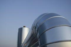 Tubo dell'impianto di climatizzazione Immagini Stock