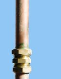 Tubo dell'impianto idraulico Fotografia Stock