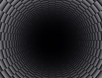 Tubo della fibra del carbonio Fotografia Stock