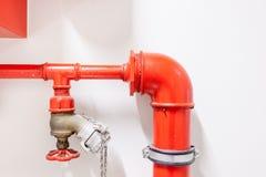 Tubo della manichetta antincendio Fotografie Stock Libere da Diritti