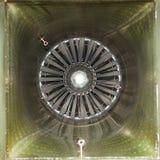 Tubo della presa di aria del combattente di jet Immagine Stock Libera da Diritti