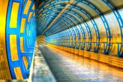 Tubo della stazione ferroviaria Fotografia Stock