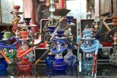 Tubo di acqua o del narghilé Fotografia Stock