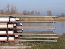 Tubo di alluminio del metallo di irrigazione Fotografia Stock