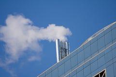 Tubo di fumo Fotografie Stock Libere da Diritti