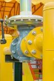 Tubo di gas Fotografia Stock Libera da Diritti