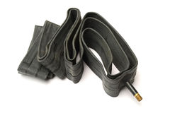 tubo di gomma di gomma Fotografia Stock