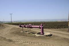 Tubo di irrigazione Fotografia Stock