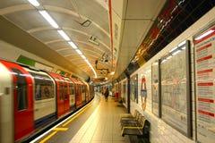 Tubo di Londra Immagini Stock Libere da Diritti