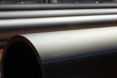 Tubo di plastica Immagine Stock