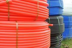 Tubo di plastica immagini stock libere da diritti