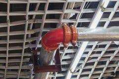 Tubo di protezione antincendio immagini stock