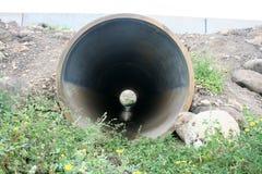 Tubo di scarico Fotografia Stock