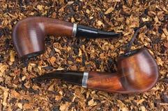 Tubo dos y tabaco Imagen de archivo libre de regalías