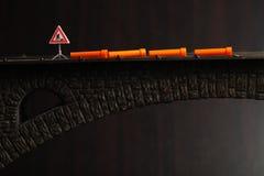 Tubo en escena del puente Foto de archivo libre de regalías