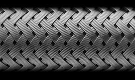 Tubo flessibile del metallo fotografie stock