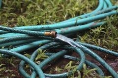 Tubo flessibile dell'acqua Immagini Stock Libere da Diritti